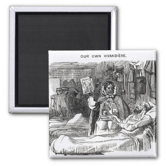 Our Own Vivandiere, Mrs Seacole 2 Inch Square Magnet