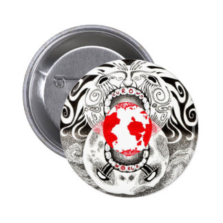 Our Own World Black and Red Tamsin Doherty Pins