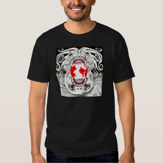 Our Own World Black and Red Tamsin Doherty T Shirt