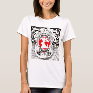 Our Own World Black and Red Tamsin Doherty T-Shirt