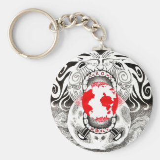 Our Own World by Tamsin Doherty 3-Color Keychain