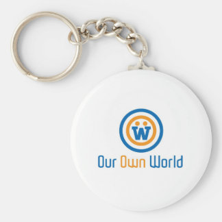 Our Own World Logo by Gimasra Keychain