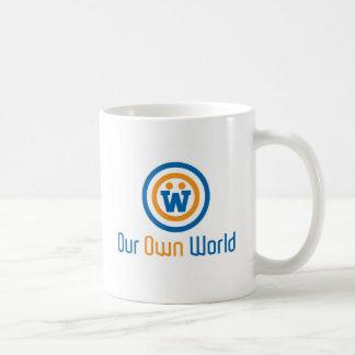 Our Own World Logo by Gimasra Mugs