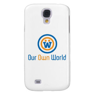 Our Own World Logo by Gimasra Samsung Galaxy S4 Cover