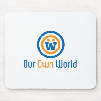 Our Own World Logo Mousepads