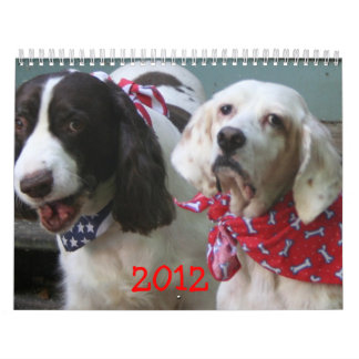 Our Pack Calendar 2012