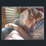 """Our Pack Inc. 2018 Calendar<br><div class=""""desc"""">All proceeds got to Our Pack Inc. a 501c3 organization. Our Pack&#39;s mission is to promote compassion and kindness toward pit bulls and chihuahuas. We do this by rescuing dogs from overcrowded shelters, educating the public about pit bulls and chihuahuas wonderful pets, and facilitating the lifelong bond between dogs and...</div>"""