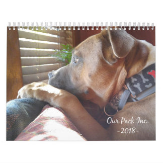 Our Pack Inc. 2018 Calendar