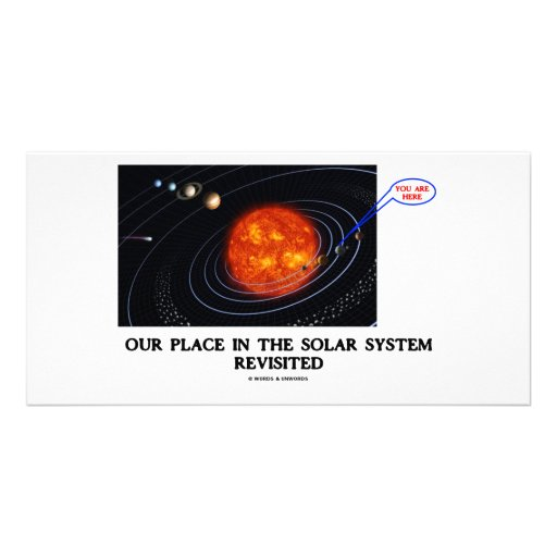 Our Place In The Solar System Revisited Photo Cards