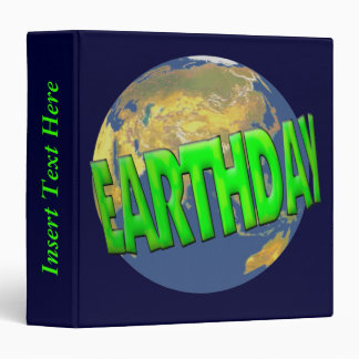 Our Planet Earth Day Avery Binder
