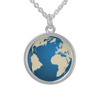 Our planet custom necklace
