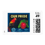 Our Pride Apple Label - Washington State Postage