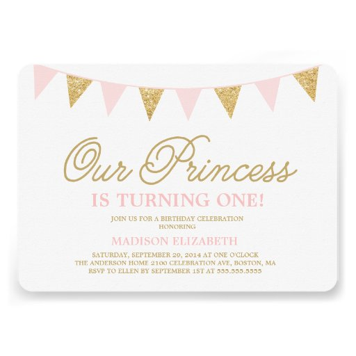 Personalized Princess party Invitations – Princess Party Invitations