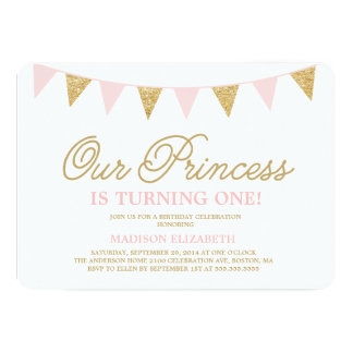Our Princess | Birthday Invitation