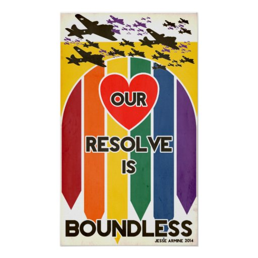 Our Resolve is Boundless (LGBTQIA) Print