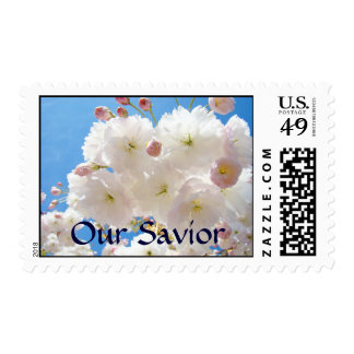 Our Savior postage stamps Easter Pink Blossoms