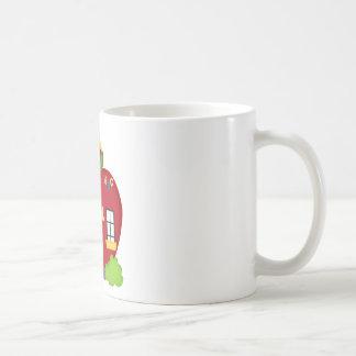 Our School Days- apple,teacher Coffee Mug