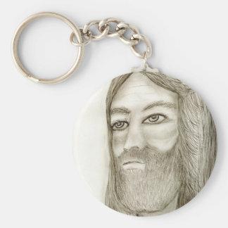 Our Shephard Basic Round Button Keychain