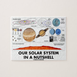Our Solar System In A Nutshell (Galactic Attitude) Jigsaw Puzzle
