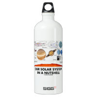 Our Solar System In A Nutshell SIGG Traveler 1.0L Water Bottle