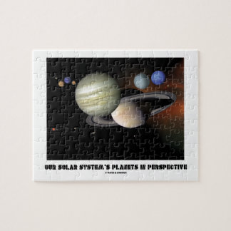 Our Solar System's Planets In Perspective Puzzle