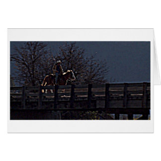 """OUR SPECIAL DAY"" MAN ON HORSEBACK-LOVE CARD"