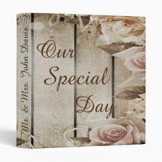 """""""Our Special Day"""" Wedding Photo Binder"""