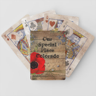 Our Special Place Personalized Playing Cards