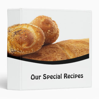 Our Special Recipes Binder