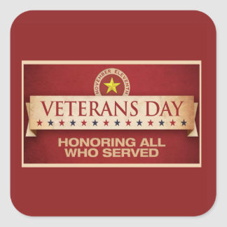 Our Stars Veterans Day Sticker