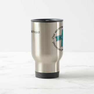 Our stories may be different... 15 oz stainless steel travel mug