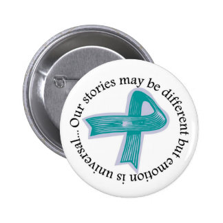 Our stories may be different... pinback button