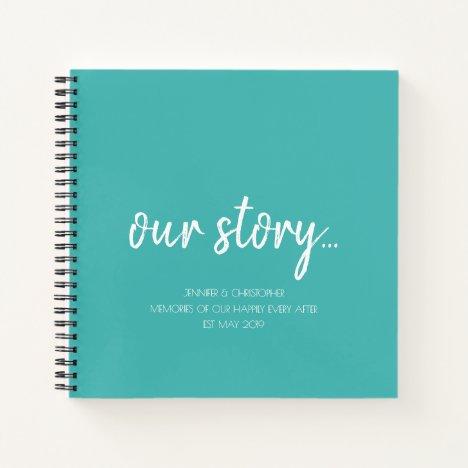 Our Story Memories Couples Keepsake Journal