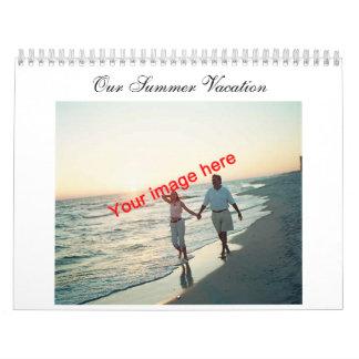 Our Summer Vacation Calendar