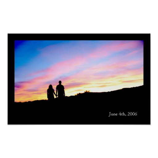 Our Sunset Poster