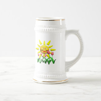 Our Sunshine Godmother Mothers Day Gifts 18 Oz Beer Stein