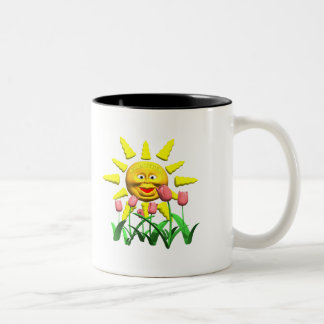 Our Sunshine Godmother Mothers Day Gifts Two-Tone Coffee Mug
