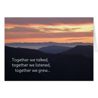 Our Times Together Cards