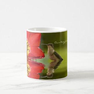Our tiny friends. . . . coffee mug