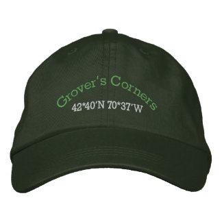Our Town Embroidered Baseball Cap
