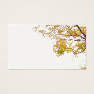 Our Tree Fall Themed Wedding Blank Place Cards