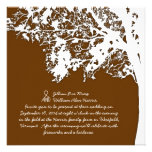 Our Tree, Rustic Country Wedding Invitation, Brown