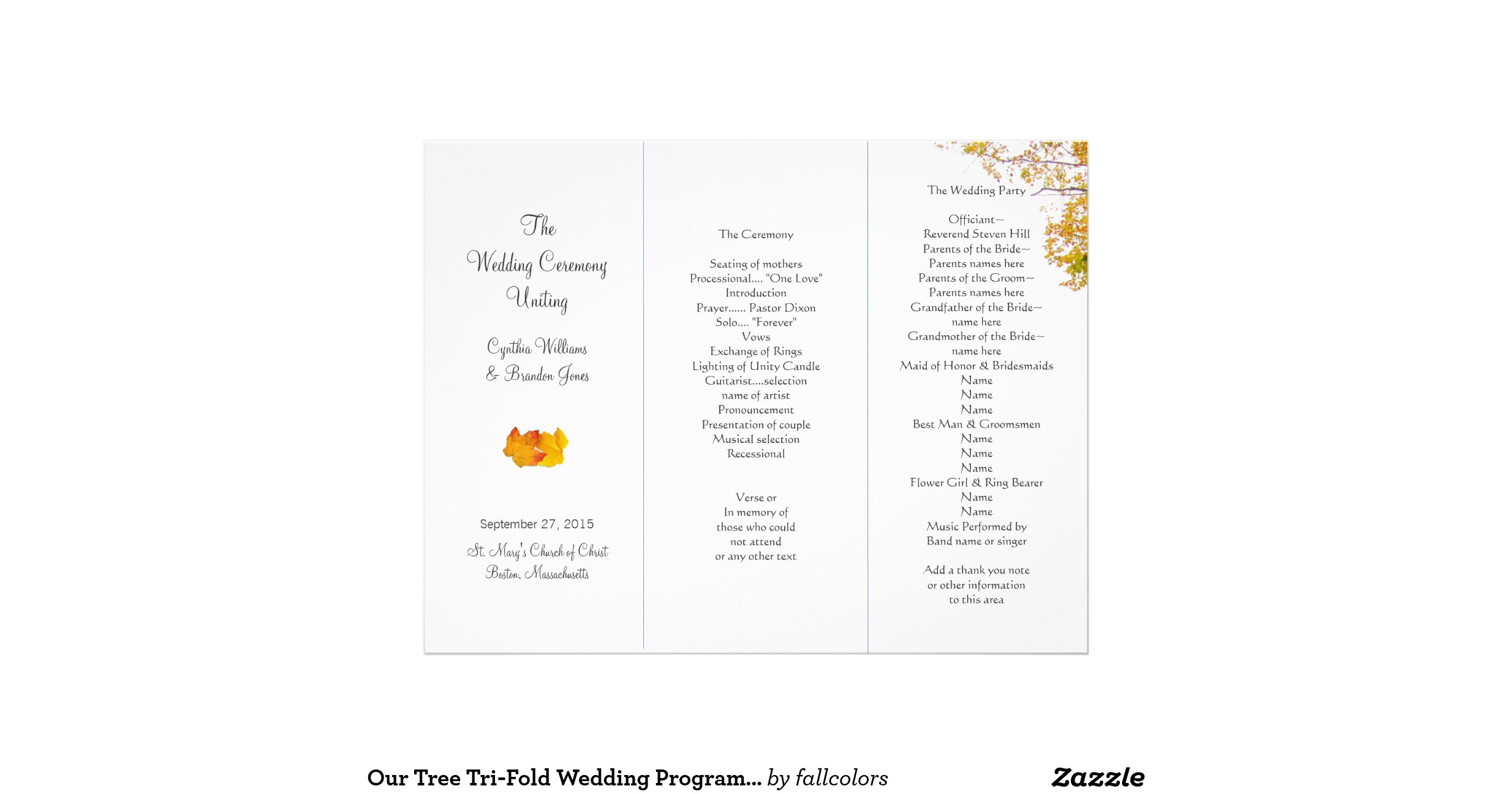 rustic wedding program template burlap lace diy