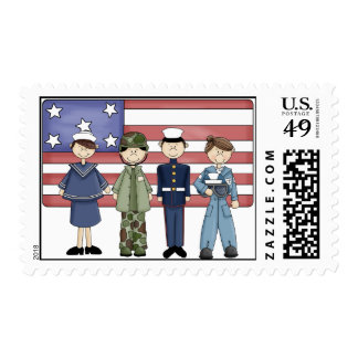 Our Troops - Postage