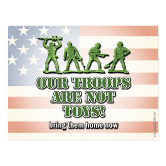 Our Troops... Postcard