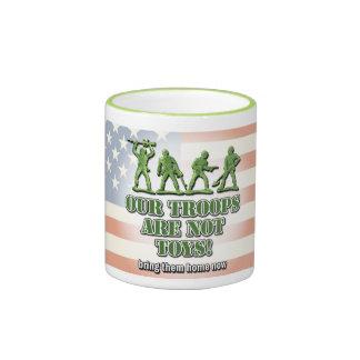 Our Troops... Ringer Mug