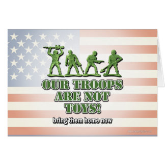 Our Troops... Stationery Note Card