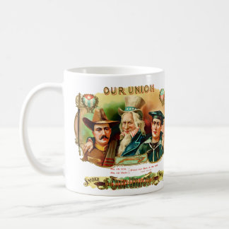 Our Union Vintage Cigar Box Label Coffee Mug