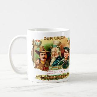 Our Union Vintage Cigar Box Label Coffee Mug