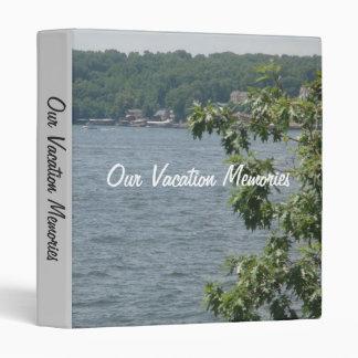 Our Vacation Memories Binders